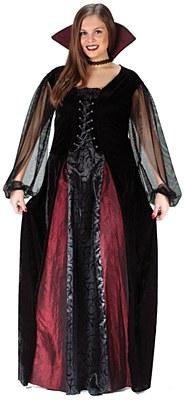Goth Maiden Vampiress Adult Plus Costume