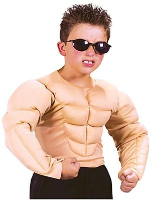 Padded Child Muscle Shirt