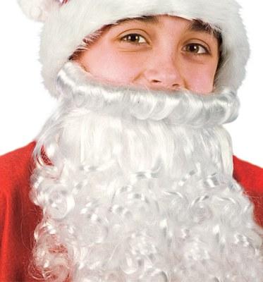 Santa Beard And Child Wig Set
