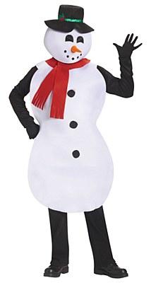 Jolly Snowman Adult Costume