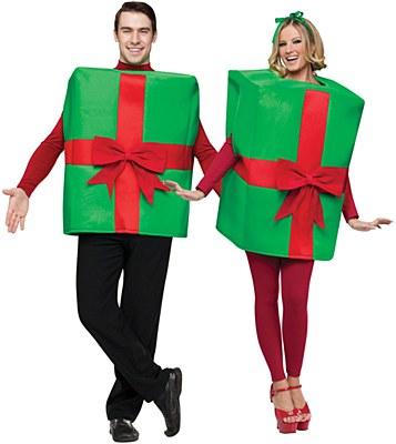 Gift Box Adult Costume