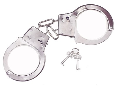 Metal Toy Handcuffs