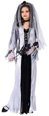 Skeleton Bride Child Costume