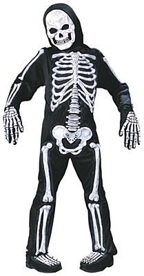 Skelebones 3-D Child Costume