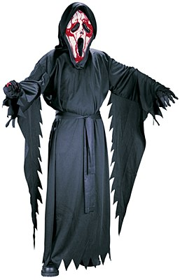 Scream Bleeding Ghost Face Child Costume