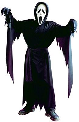 Scream Ghost Face Stalker Child Costume