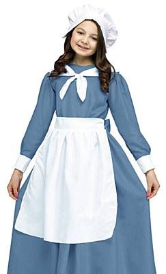 Pilgrim Girl Costume Accessory Kit