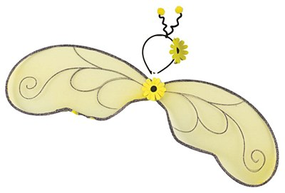 Bumble Bee Wings & Antennae Set