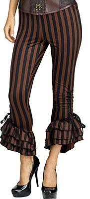 Pirate / Steampunk Striped Women's Character Pants