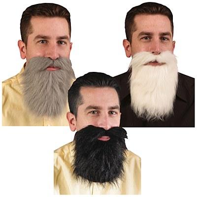Black Economy Beard And Moustache