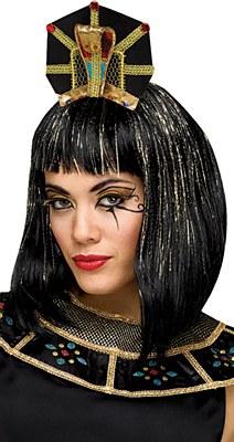 Cleopatra Egyptian Queen Cobra Headband