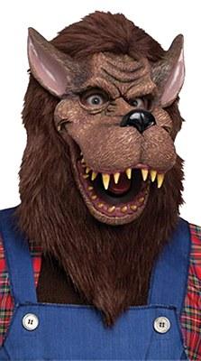 Big Bad Wolf Cartoon Mask