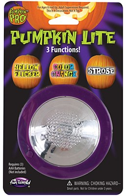 Pumpkin 'All In One' 3 Function Light