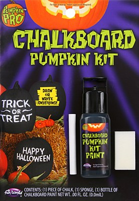 Pumpkin Chalkboard Kit
