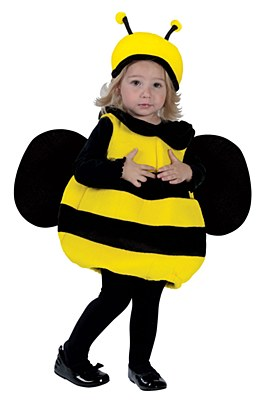 Bumble Bee Baby Toddler Costume