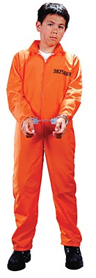 Got Busted Prison Child Costume