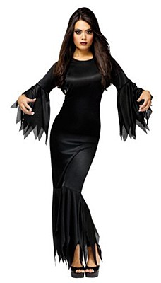 Morticia Adult Costume