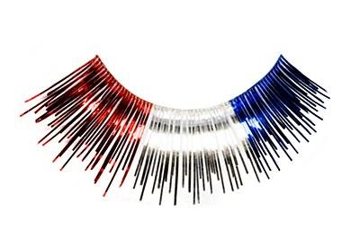 Eyelashes Metallic Patriotic
