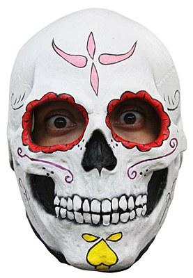 Catrina Day Of The Dead Skull Mask