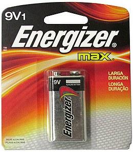 9 Volt Energizer Battery