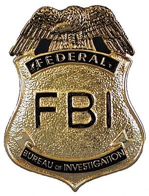 FBI Metal Badge