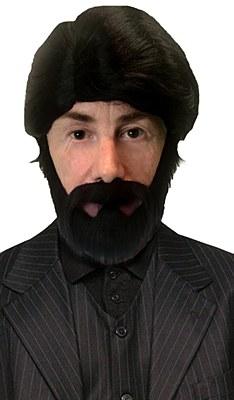 Fortnite The Sniper Wig And Beard Set