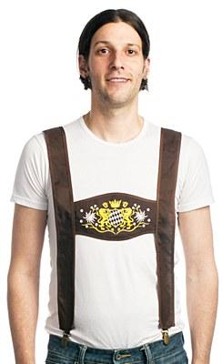 Bavarian Leiderhosen Suspenders