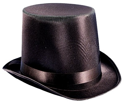 "Satin 7"" Top Hat"