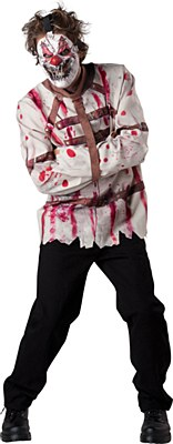 Psycho Circus Clown Adult Costume