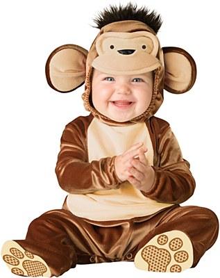 Monkey Mischievous Infant Child Costume