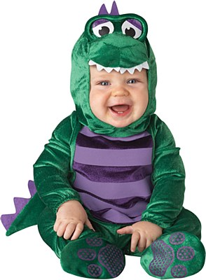 Dinky Dino Infant Child Costume