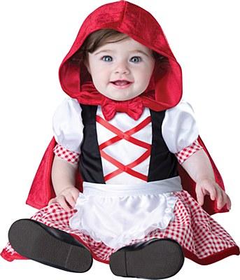 Little Red Riding Hood Newborn Child Costume