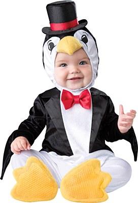 Playful Penguin Newborn Costume