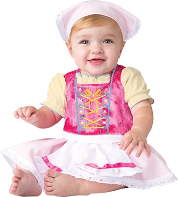Bavarian Cutie Newborn Costume