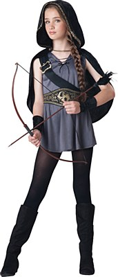 Hooded Huntress Child Costume