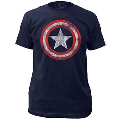 Captain America Men's Plus T-Shirt