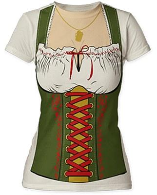 Fraulein Oktoberfest Barmaid T-Shirt