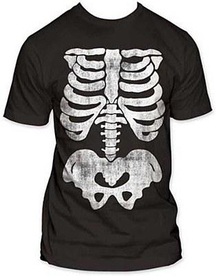 Skeleton Men's Plus Plus T-Shirt