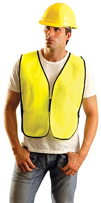 Construction Safety Adult Yellow Vest