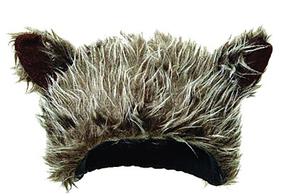 Bear / Wolf Plush Hat
