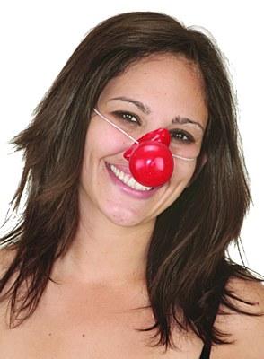 Honking Rubber Clown Nose
