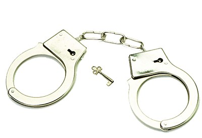 Metal Police Toy Handcuffs