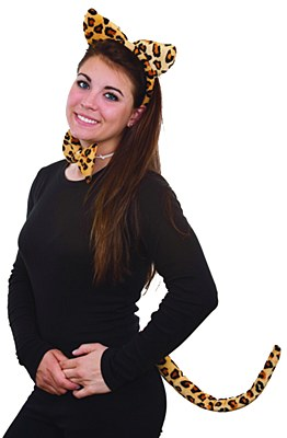 Leopard Ears Accessory Set