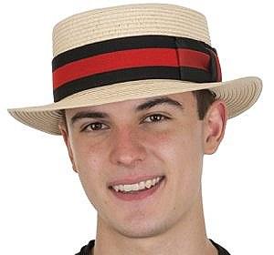 Boater / Skimmer Straw Hat