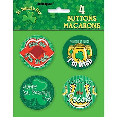 St. Patrick's Day Buttons / Pins