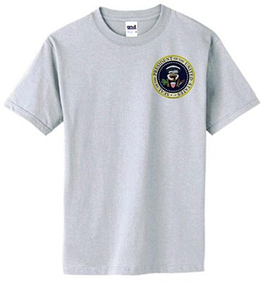 Kakistocracy Presidential Seal Novelty T-Shirt