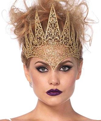 Die Cut Lace Gold Crown