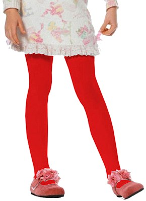 Opaque Child Red Tights