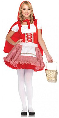 Lil' Miss Red Riding Hood Teen Costume