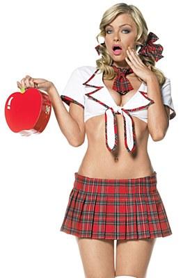 Miss Prep School Adult Costume